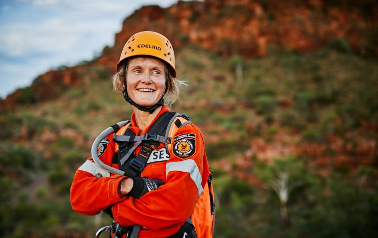 The April 2021 issue of the Australian Journal of Emergency Management features Bushfire and Natural Hazards CRC research that supports recruitment and retention of emergency service volunteers. Photo: DFES.