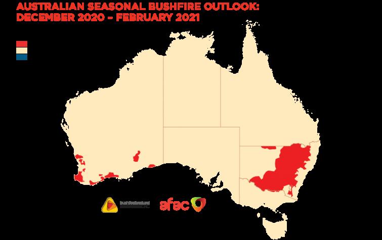 Australian Seasonal Bushfire Outlook: December 2020 – February 2021