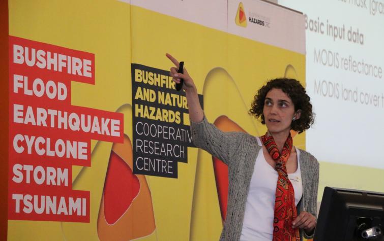 Dr Marta Yebra from the Australian National University