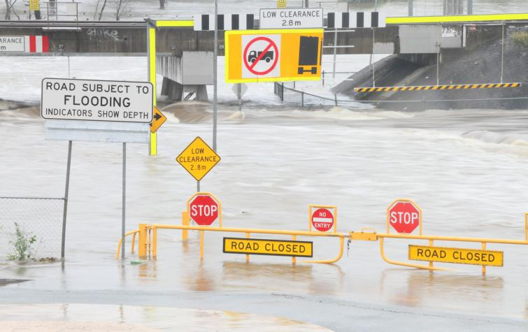 Morayfield, QLD flood