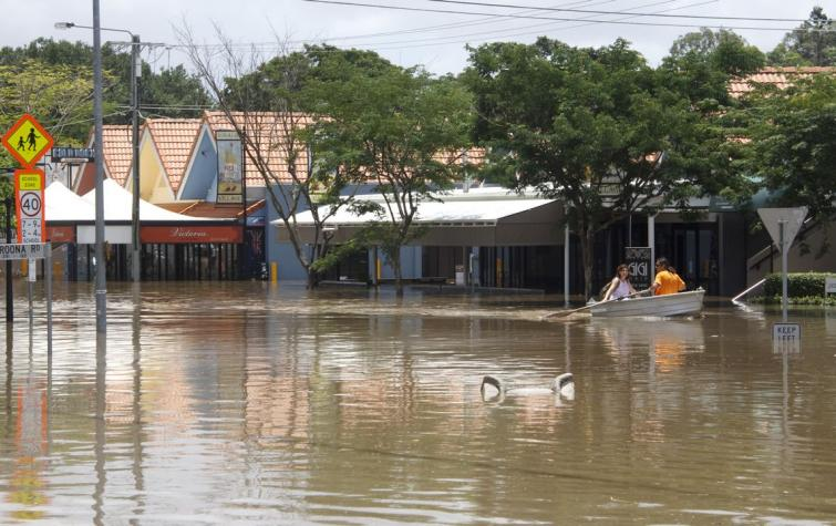 2011 Brisbane Floods. Photo: Angus Veitch
