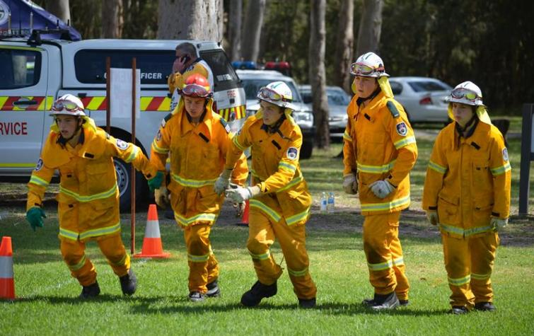 Australian Fire Cadet Champs. Photo: NSW RFS