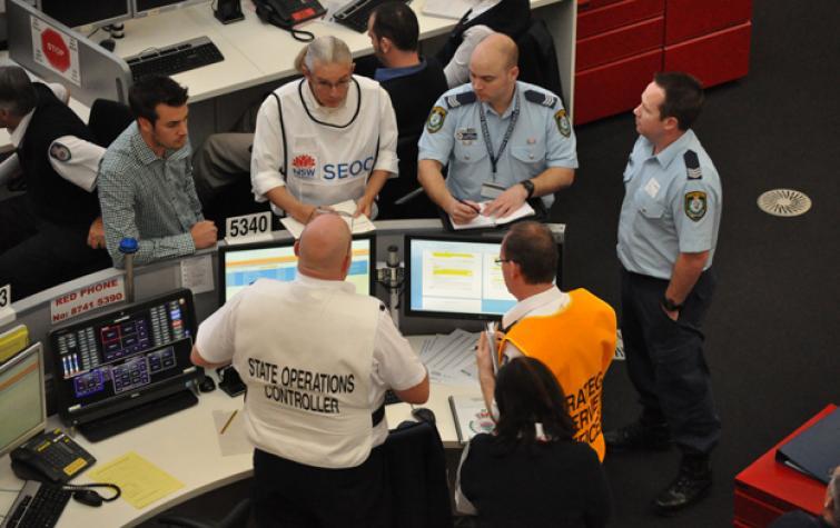 Multi team incident management