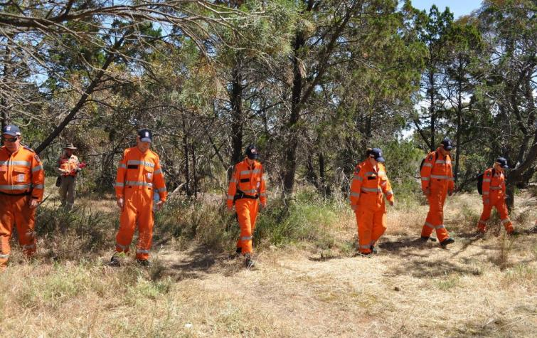 This research will examine the behaviour of people evacuating during a bushfire. Photo: South Australia SES.
