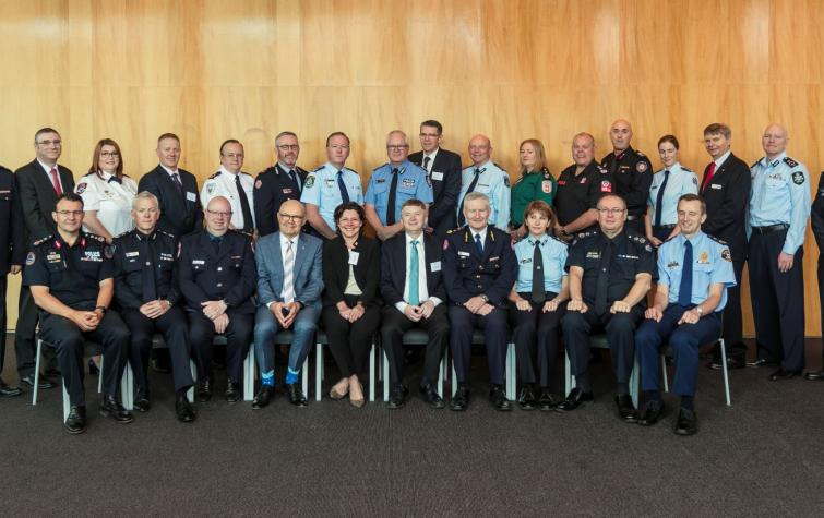 Agencies and delegates from the sector gather in Melbourne for the launch of the report. Photo: Craig Sillitoe.