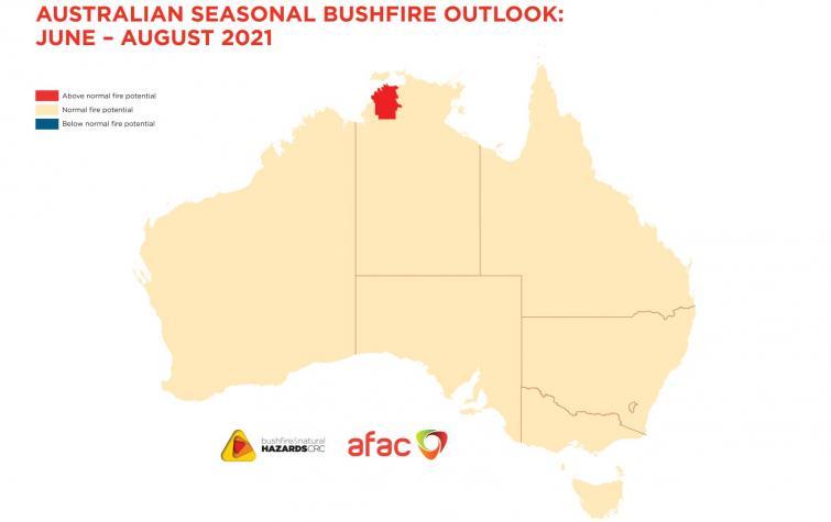 Australian Seasonal Bushfire Outlook: June-August 2021
