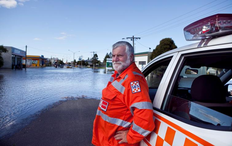 2011 Horsham floods. Photo: Victoria State Emergency Service