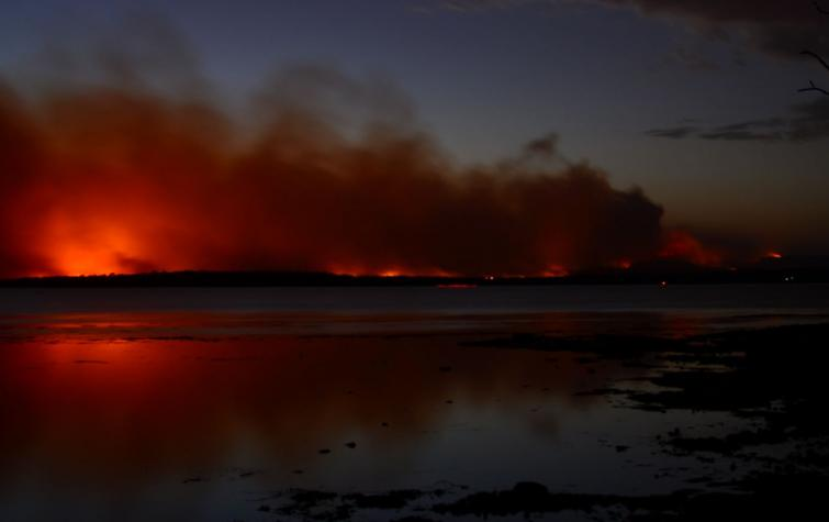 Preparing for severe weather seasons is a key focus for researchers who need to consider the affects of climate change. PHOTO: Carl Coleman, NSW Rural Fire Service