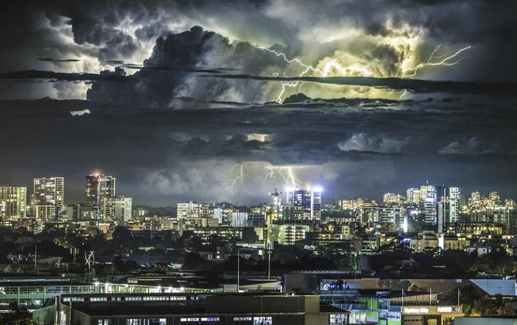 Sydney storm. Photo: Andrew Xu (CC BY-SA 2.0)