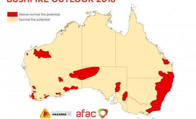 The Southern Australia Seasonal Bushfire Outlook 2018.