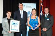 TFS accept their Resilient Australia Award