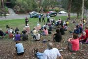 Community fire meeting
