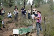Research in action in north east Victoria.
