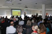 Deputy Secretary Tasmanian Parks addressing RAF in Hobart