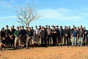 Northern Australia Fire Managers Forum 2017, group photo at Parry Lagoons.