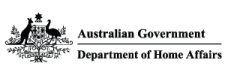 Department of Home Affairs Logo.
