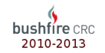Sourced from: BushfireCRC 2010-2014