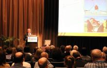 Dr Laurie Hammond at the Emergency Management Conference 2014