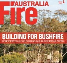 The cover of the Fire Australia Autumn 2015 issue
