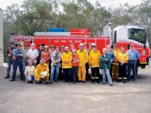 The Wollombi Valley Firewise community, comprising local residents and members of the Rural Fire Brigade