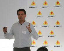 Holger Maier presents at the 2016 Hobart RAF