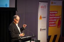 John Nairn from the Bureau of Meteorology presents at the 2015 conference.