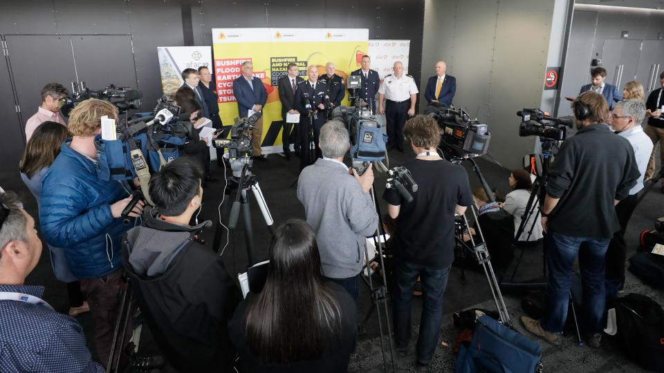 A media conference was held for the release of the Bushfire and Natural Hazards CRC's Seasonal Bushfire Outlook.