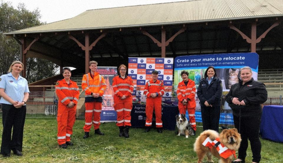 Get Ready Animals launch. Photo: NSW State Emergency Service