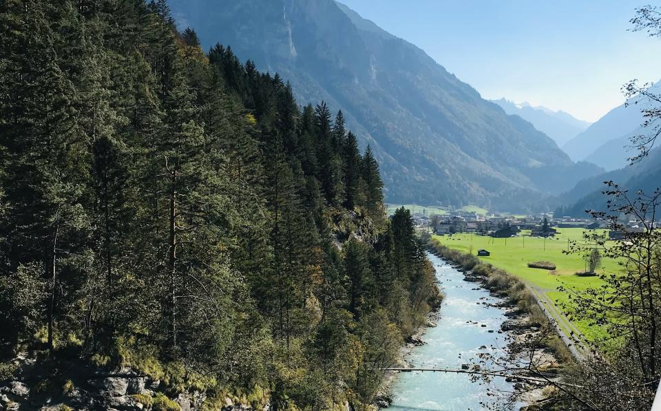 Dr Hoult has moved to Switzerland where he is enjoying the vast landscapes.