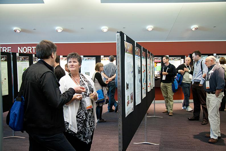 Research posters display - annual conference 2012