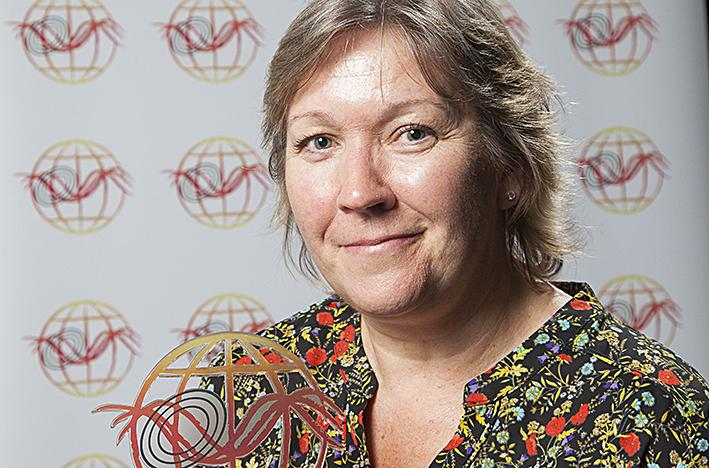 Dr Mel Taylor, EMPA research award 2018