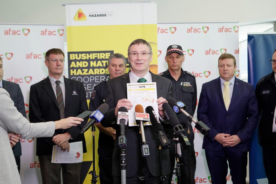 Dr Richard Thornton launches the Southern Australia Seasonal Bushfire Outlook.