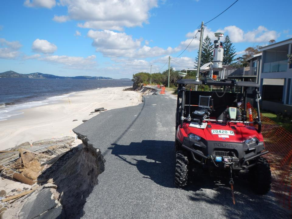 Jimmys Beach NSW erosion April 2015 (Credit NSW OEH)