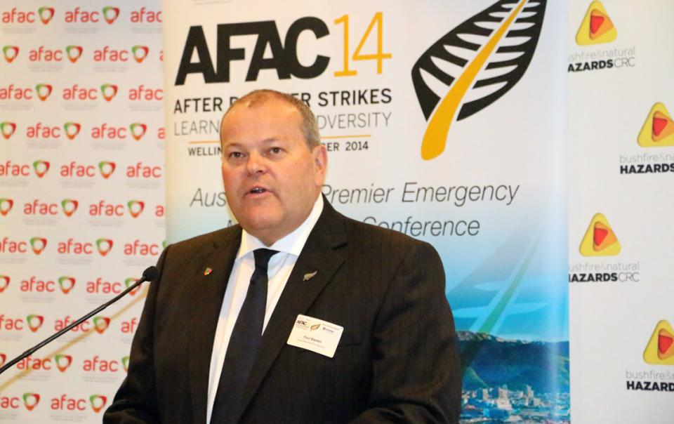 Paul Baxter - NZ Fire Service