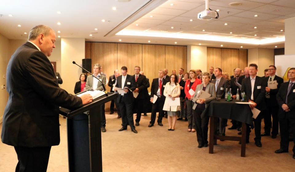 Launch of 2014 conference program