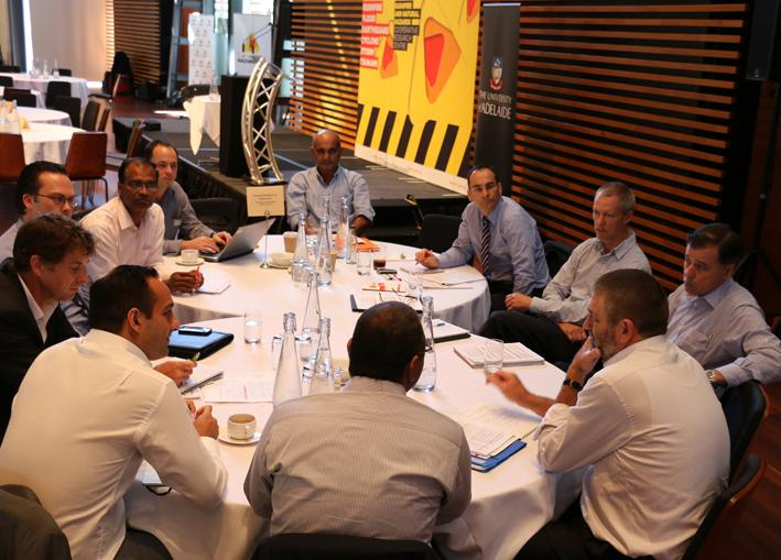 Project discussions - Research Advisory Forum Adelaide 2014