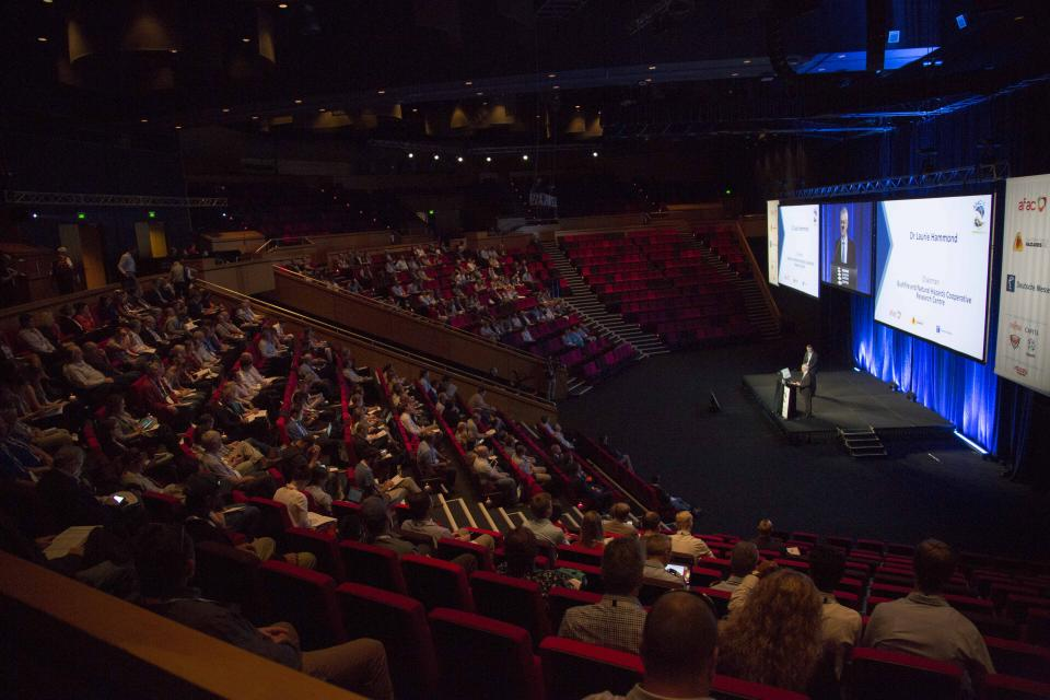 The AFAC16 Research Forum opened with Laurie Hammond