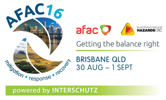 AFAC16 Powered by INTERSCHUTZ