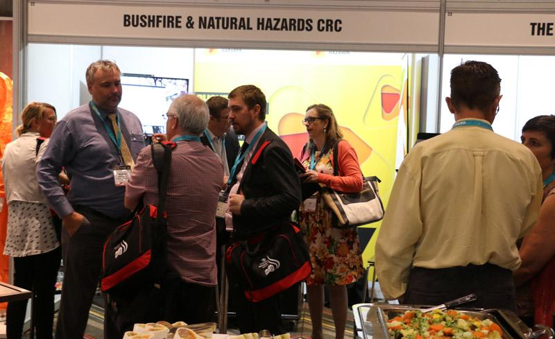CRC booth at ANZDMC 2015