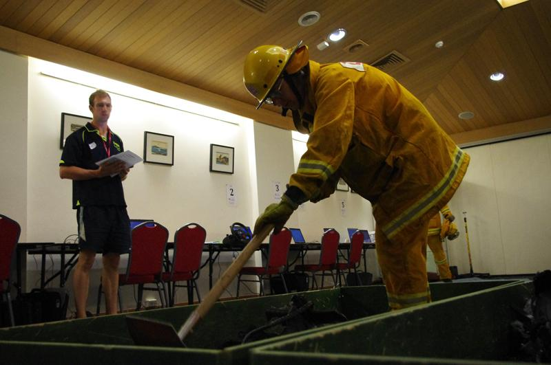 Alex Wolkow assessed how sleep deprivation and stress impacted on firefighter performance.