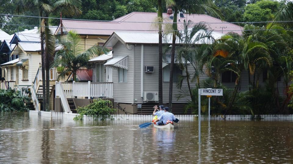 2011 Brisbane floods. Source: Angus Veitch (CC BY-NC 2.0)