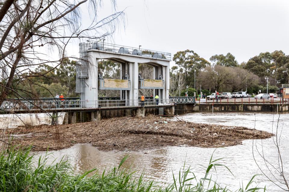 Adelaide floods. Source: SA SES Flickr