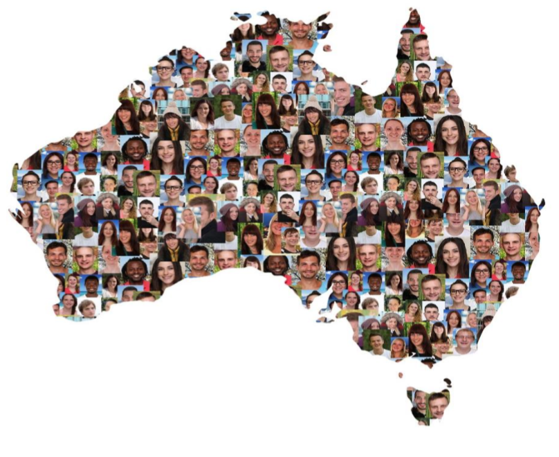 Diversity in Australia. Photo: Markus Mainka, Bigstock