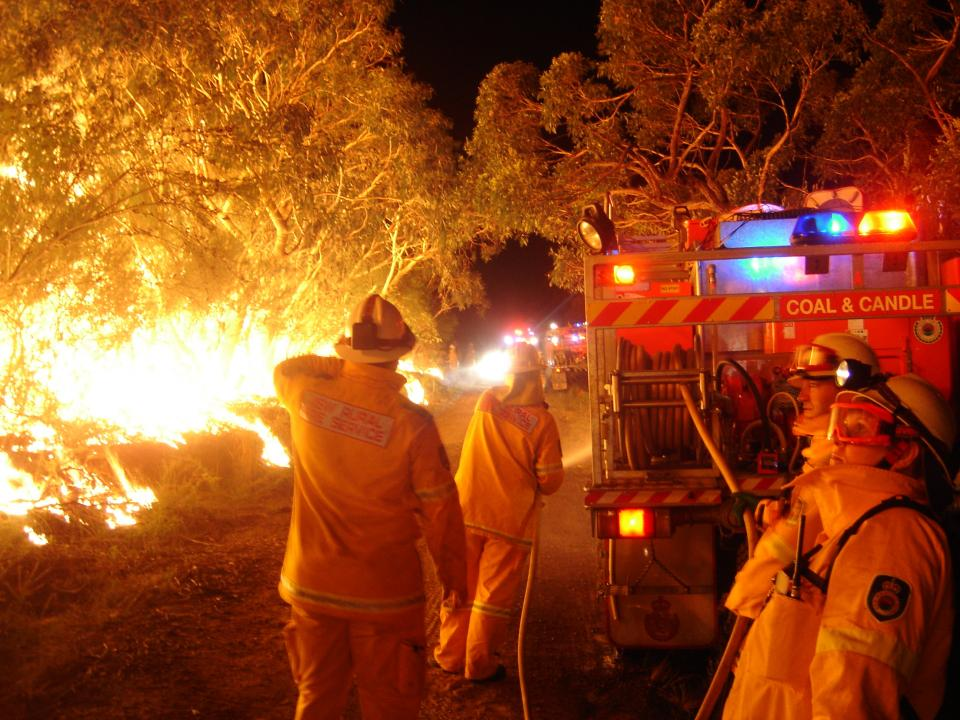 Prescribed burning in New South Wales. Photo: NSW RFS.