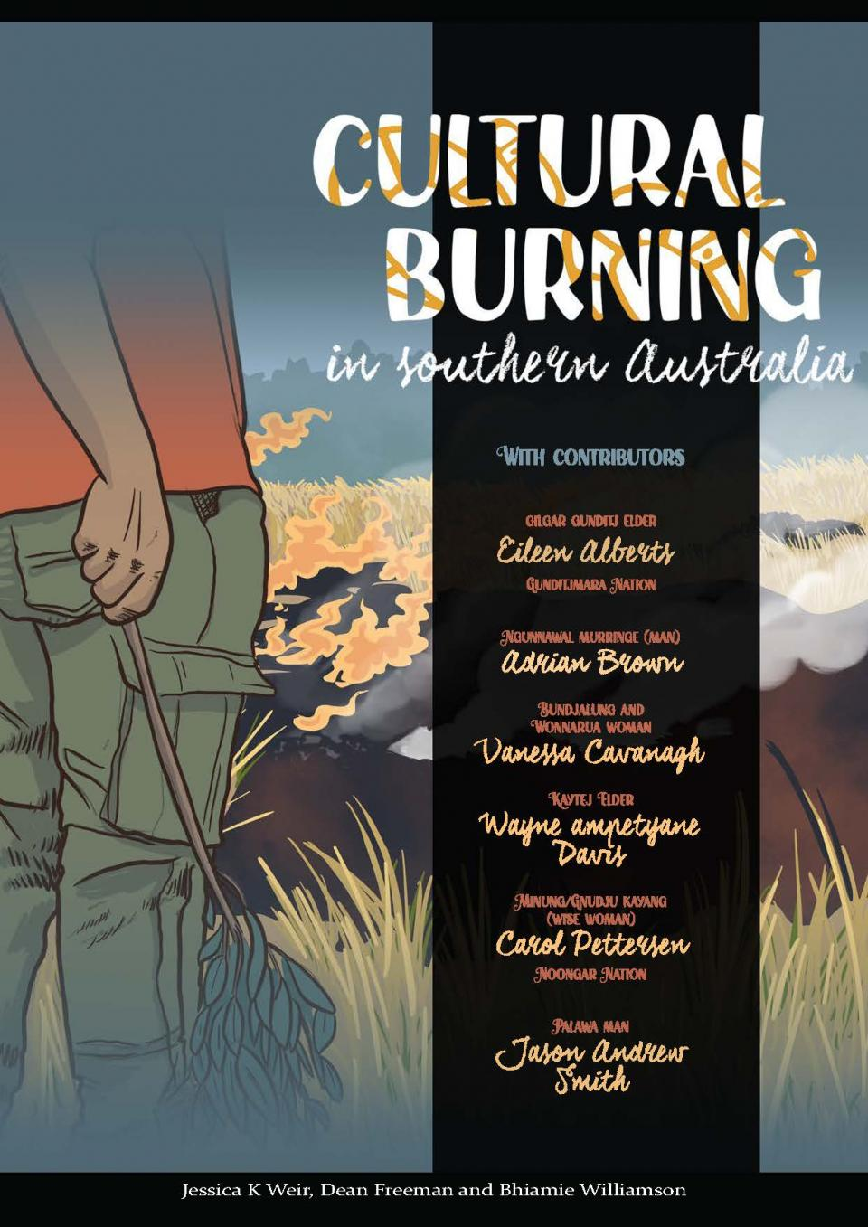 Cultural burning in southern Australia