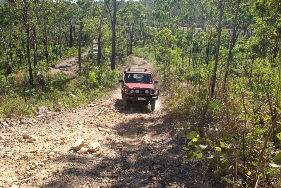 Fire management crew in the Northern Territory. Photo: Bushfire NT.