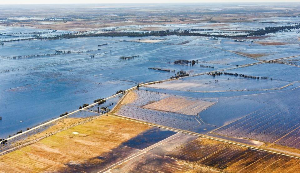 Victoria 2011 floods. Photo: VICSES