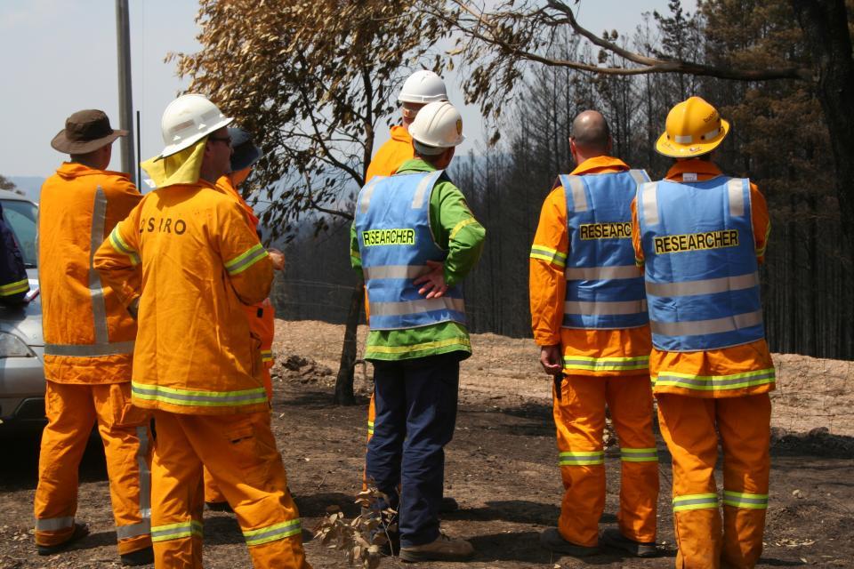 The Victorian Bushfires Research Taskforce at Wandong
