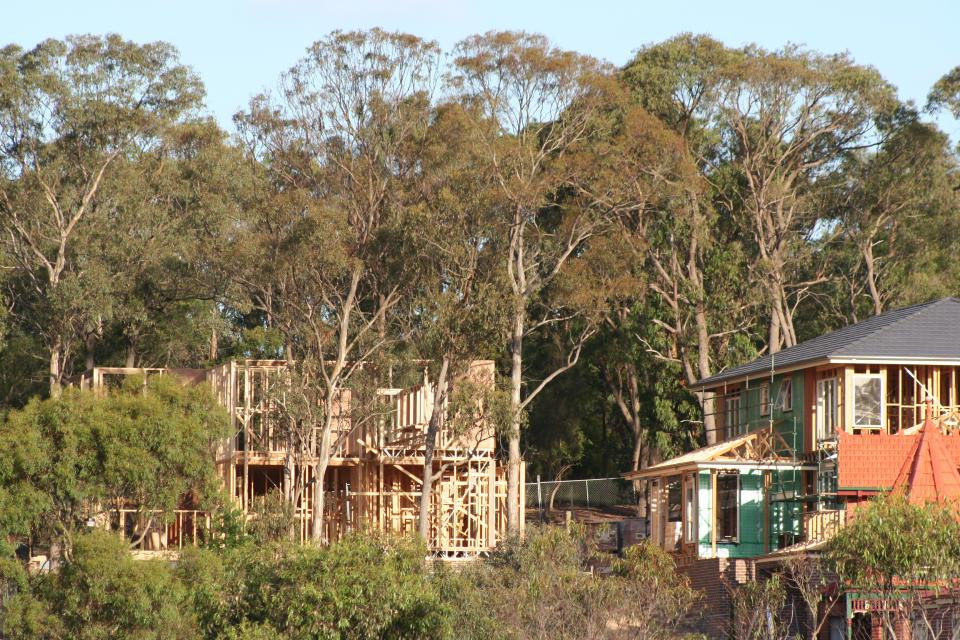 Melbourne's urban-bush interface presents planning challenges for managing fire risk..