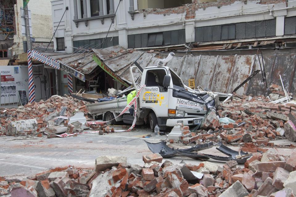 Damage from the Christchurch earthquake. Photo: John McCombe.